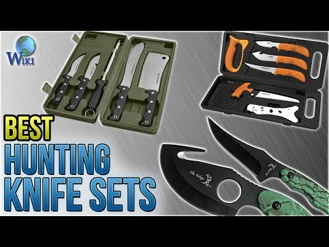 10 Best Hunting Knife Sets 2018