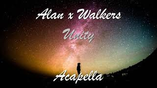 (Acapella) Alan x Walkers - Unity (Vocal only)