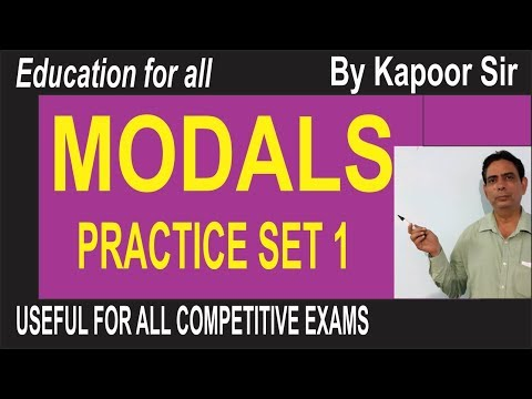 mp4 Exercises About Modals, download Exercises About Modals video klip Exercises About Modals