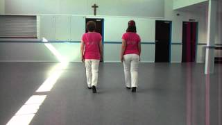 Saints-inline 1st Steps Waltz Line Dance