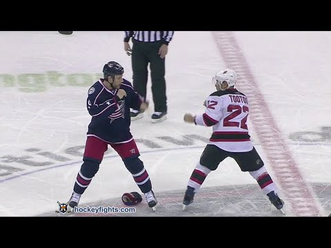 Gregory Campbell vs. Jordin Tootoo