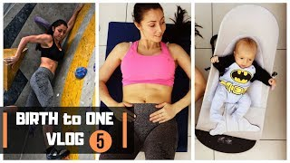 Lose Baby Weight After C Section - Birth to One Vlog #5