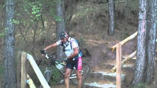 preview picture of video 'Mora de Rubielos en BTT: Collado del Pradillo - Alto de San Rafael - Fuendenarices - Presa de Mora'