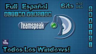 Descargar Team Speak 3.1.8 (TS3) [2018][MEGA][Español]