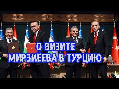 Эксперт о визите Мирзиёева в Турцию