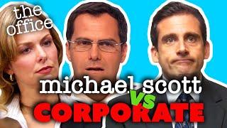 Michael Scott Vs Corporate - The Office US