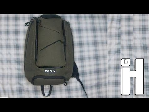 Back to School Bag | te/so Travel Backpack Review