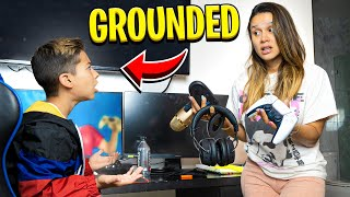 We GROUNDED our SON Because of This.. | The Royalty Family