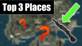 Top 3 Places To Find The DP-28 In Pubg Mobile | Underrated Weapon To Push To Conquereror League