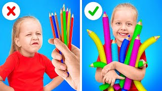 COOLE FIDGET TOYS, DIE DU SEHEN MUSST || DIY Fidget Toy Ideen