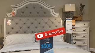 Shop with me at Ashley furniture.|| Bed Hunting