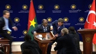 Burkina Faso foreign minister collapses in Turkey