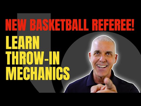 New Officials Series: Throw Ins 2-Person Mechanics
