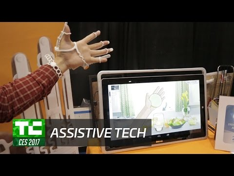 Assistive tech aids the blind, elderly, and wheelchair bound