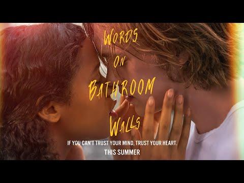 Video trailer för Words on Bathroom Walls   Official Digital Spot Trust   This Summer