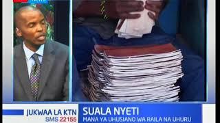 Suala Nyeti: Manufaa ya uhusiano wa Rais Kenyatta na Raila Odinga kibiashara