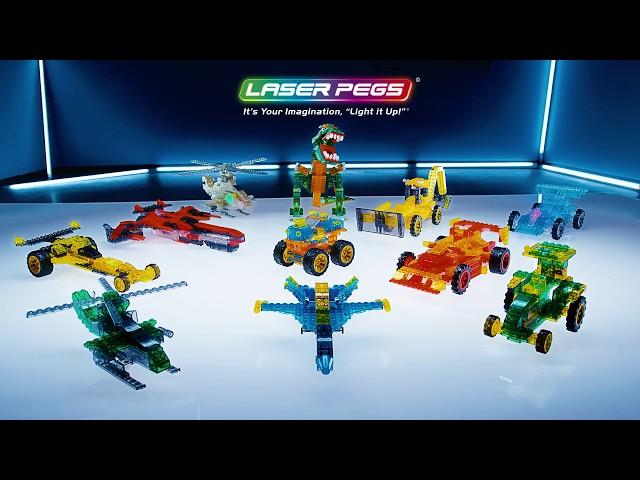 Laser Pegs Light-Up Car Kits