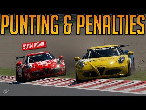 Gran Turismo Sport: Punts, Penalties & Problems