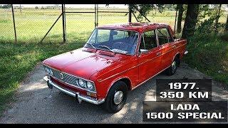 Test: Lada 1500 Special iz '77. SA SAMO 350 km! Ruski Mercedes!