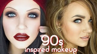 90s Grunge & Supermodel Glam Makeup Tutorial