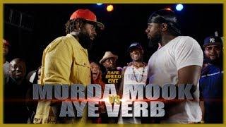 MURDA MOOK VS AYE VERB EPIC RAP BATTLE - RBE