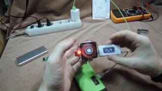 USB тестеры обзор нескольких, тонкий Powerbank типа кредитка