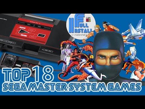 Top 18 Sega Master System Games