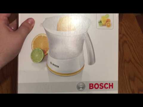 Bosch MCP 3500 unboxing (english version)