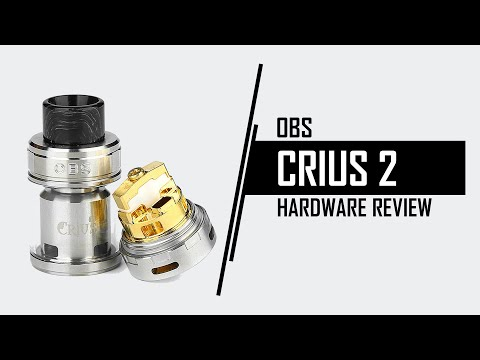 YouTube Video zu OBS Crius 2 Dual Coil Verdampfer 4 ml
