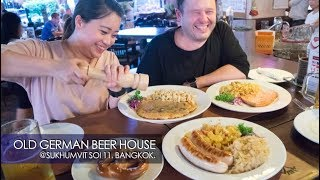 Old German Beer House Bangkok - Sukhumvit Soi 11-Video Review- PROST!