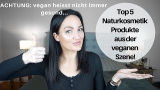 Meine Top 5 NATURKOSMETIK Favoriten die JEDER haben muss ! | Vegan |  less plastic | Natur