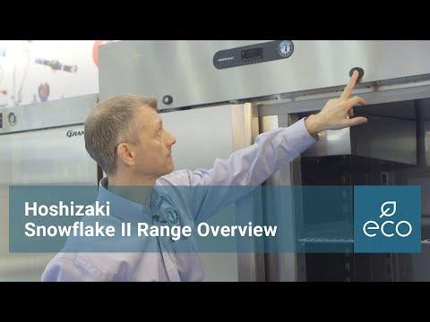 Hoshizaki Snowflake GII Range Overview