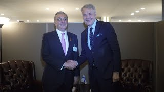 Foreign Minister Zohrab Mnatsakanyan's meeting with  Pekka Haavisto, Minister for Foreign Affairs of Finland