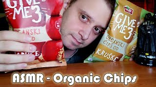 #ASMR Trying Organic Apple and Pear Chips *WHISPERING*