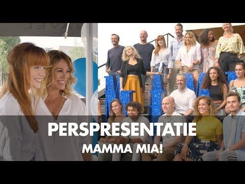 Mama Mia cast presentation at Ravel Residence