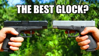 Glock 48 Semi-Auto Slim Conceal Carry Pistol 9mm 10rd Black Frame/Silver Slide - PA485SL201