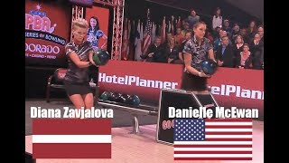 2017 Bowling World Bowling Tour Final WOMEN - Danielle McEwan VS Diana Zavjalova