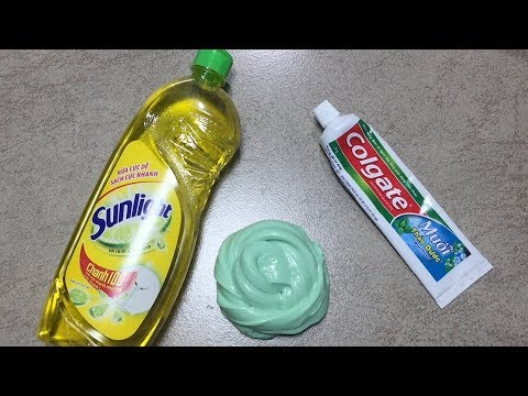2 ingredient slime slime with dish soap and sugar how to make slime dish soap and colgate toothpaste slime how to make slime soap salt and toothpaste must watch play ccuart Image collections