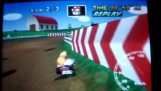 """Mario kart 64 - MMF 3lap - 1'26""""70"""
