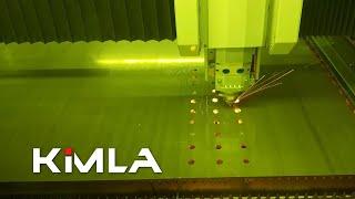 Cięcie stali 6mm - Laser fiber 10kW