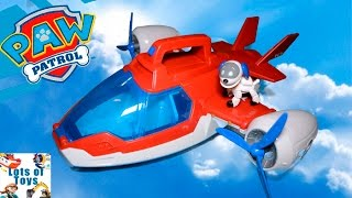 Air Rescue!! Paw Patrol Air Patroller, Lights and Sounds Transforming Heliplane, Airpalne, Chopper