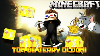 TOM VE JERRY OLDUM! - Minecraft TOM VE JERRY ŞANS BLOKLARI!