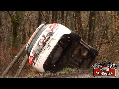 Rallye Pays du Gier 2018 [HD] - Crash & Mistakes - RallyeHorsLimites