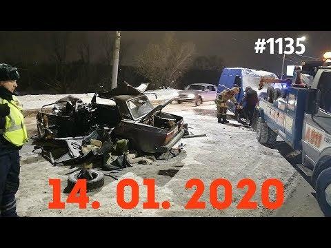 ☭★Подборка Аварий и ДТП от 14.01.2020/#1135/Январь 2020/#авария