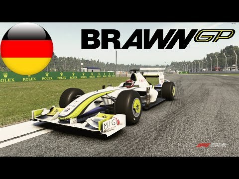 F1 2018 Gameplay - Brawn BGP 001 - Hockenheim