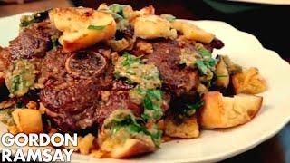 Lamb with Fried Bread - Gordon Ramsay