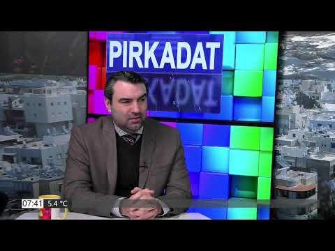 PIRKADAT Breuer Péterrel: Ifj. Lomnici Zoltán – Izraelben nő a nyomás