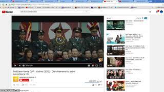 North Korea Red Horse Dragon WAR Illuminati Freemason Symbolism