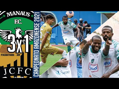 Manaus FC 3x1 JC Futebol Clube