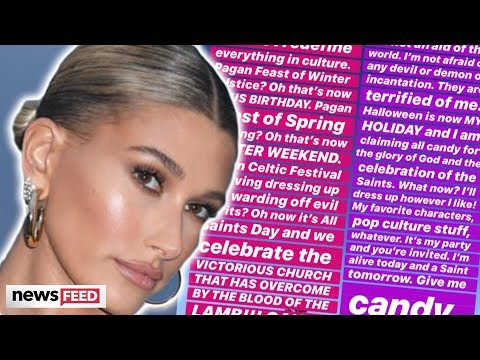 Hailey Bieber's BIZARRE & Puzzling Relationship With Halloween!